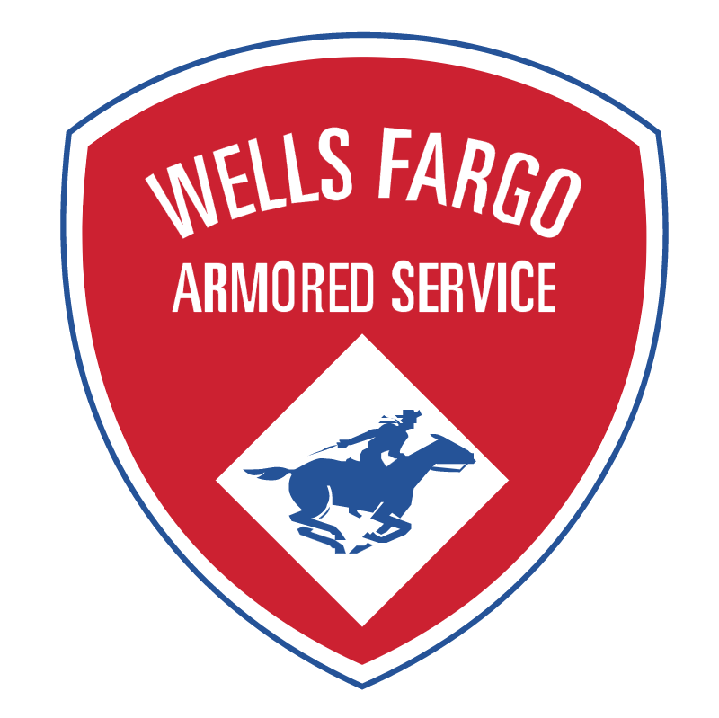 Wells Fargo Armored Service vector