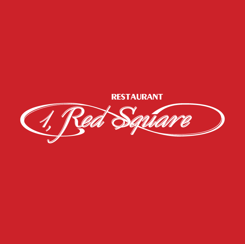 1 Red Square Restaurant vector