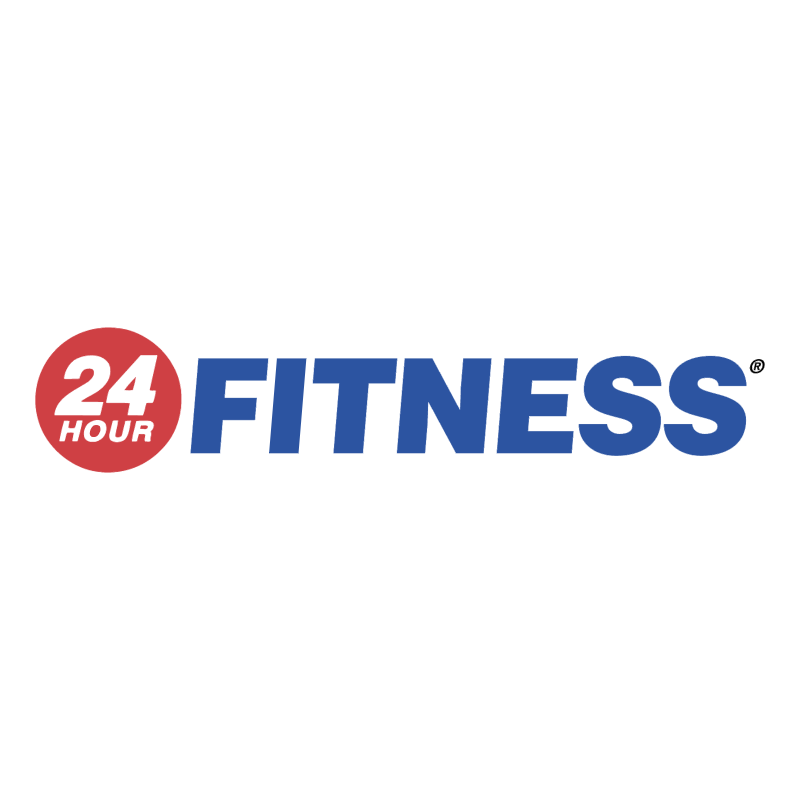 24 Hour Fitness vector logo