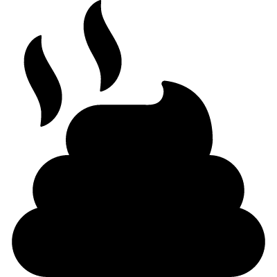 Pile of dung vector logo