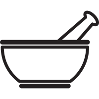 Medicine Mixing Bowl vector