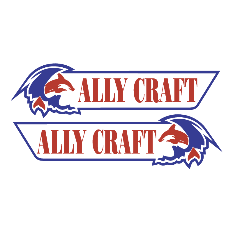 Ally Craft Boats vector