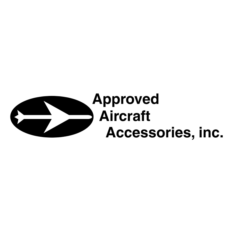 Approved Aircraft Accessories vector