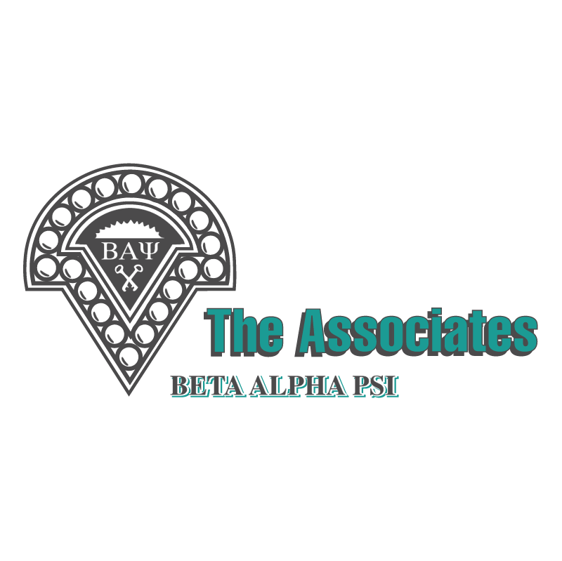 Beta Alpha PSI The Associates 69616 vector
