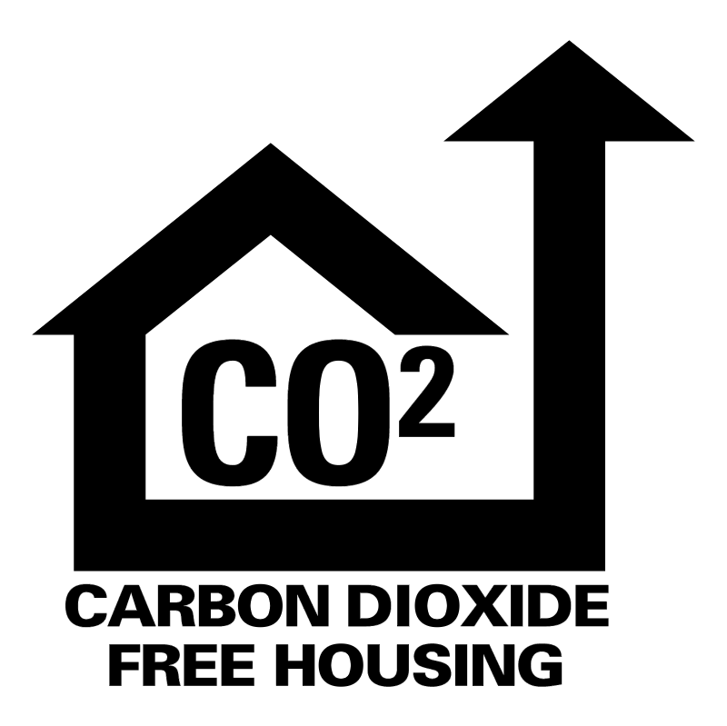 Carbon Dioxide Free Housing vector