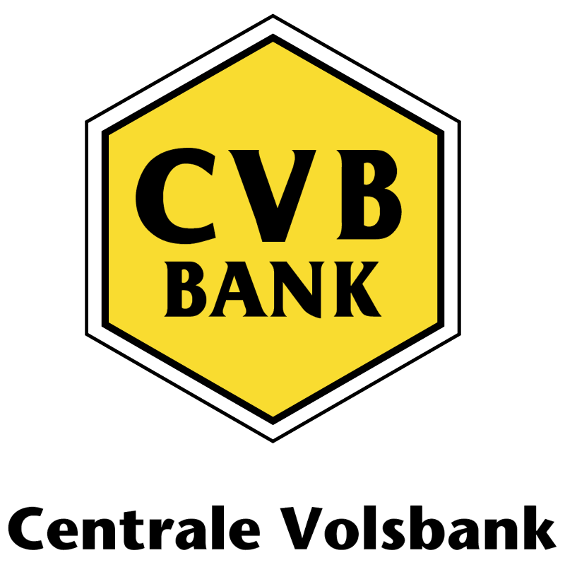 CVB Bank vector