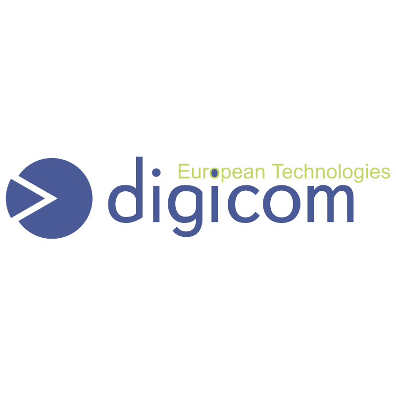 Digicom vector logo