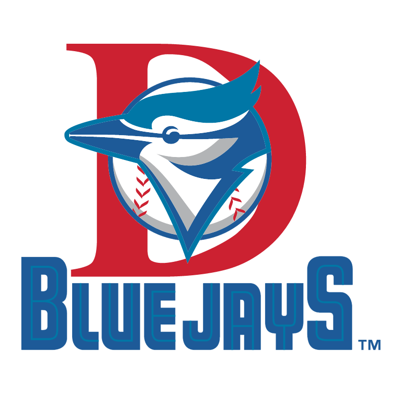 Dunedin Blue Jays vector