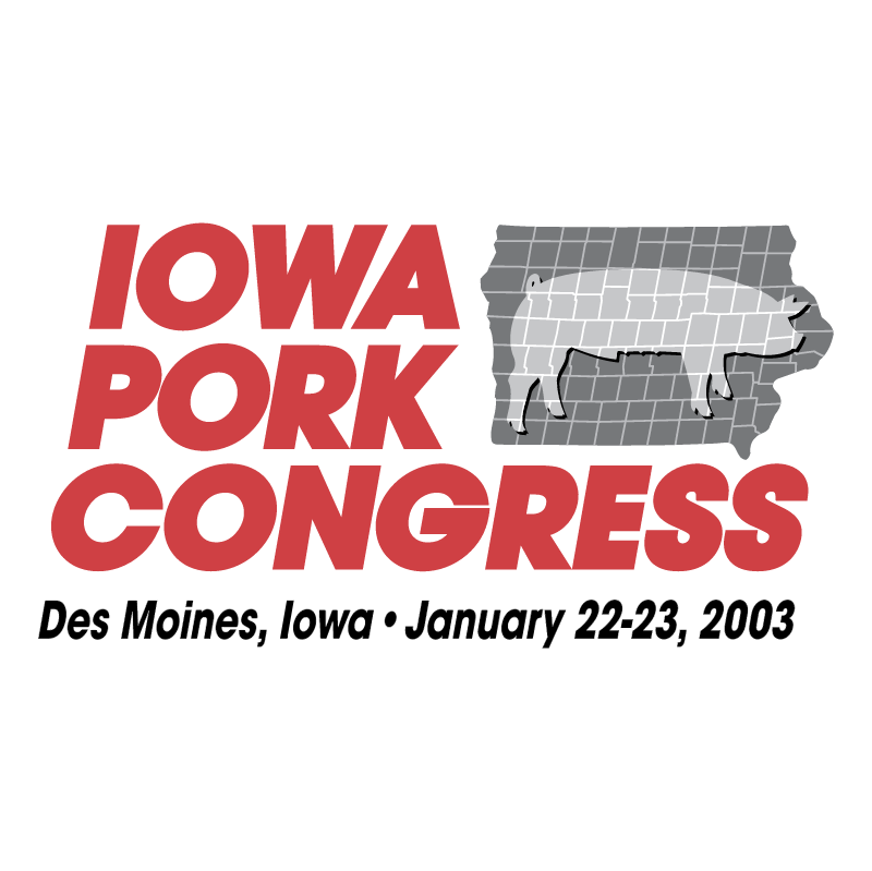 Iowa Pork Congress vector