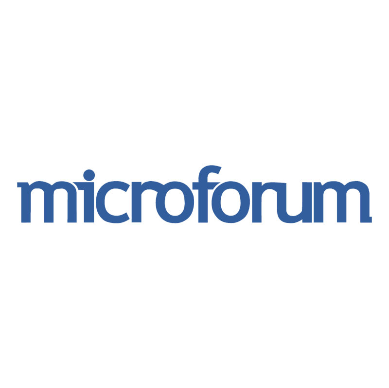 Microforum vector logo