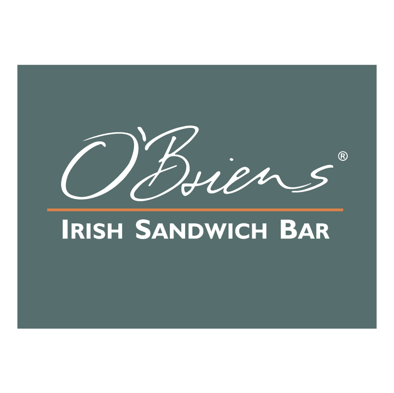 O Brien s Irish Sandwich Bar vector