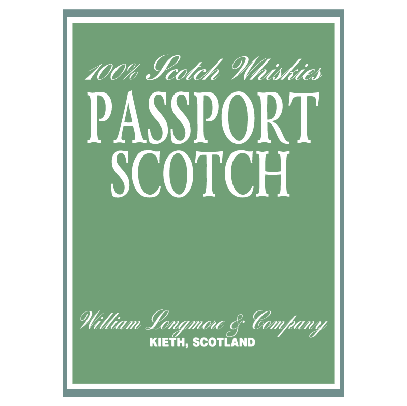 Passport Scotch vector