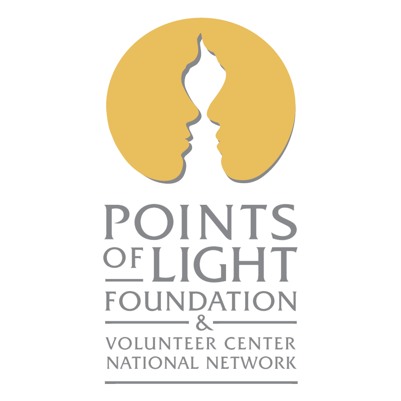 Points of Light Foundation & Volunteer Center National Network vector