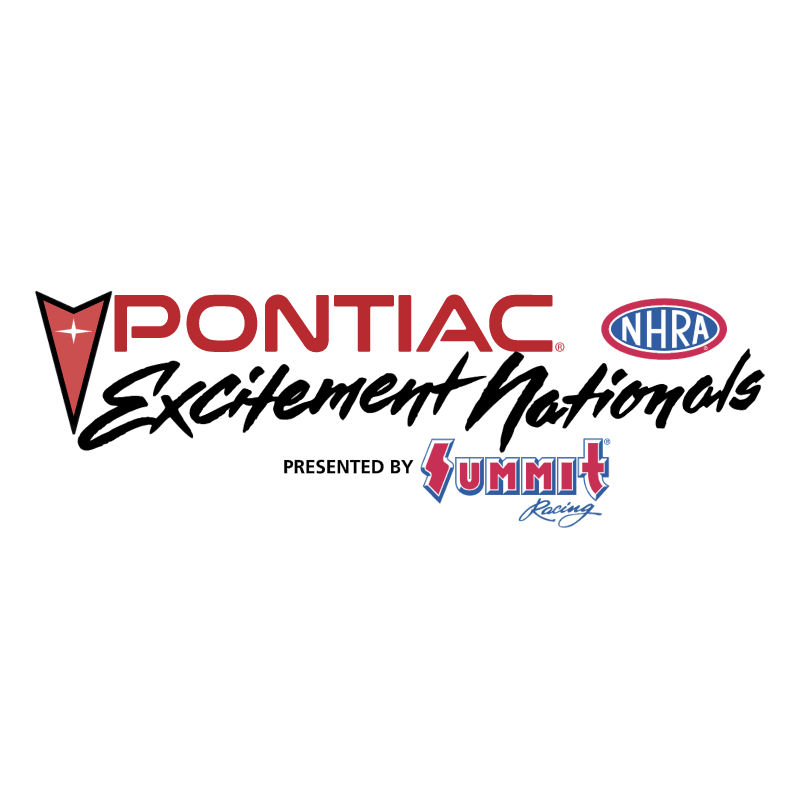Pontiac Excitement Nationals vector logo