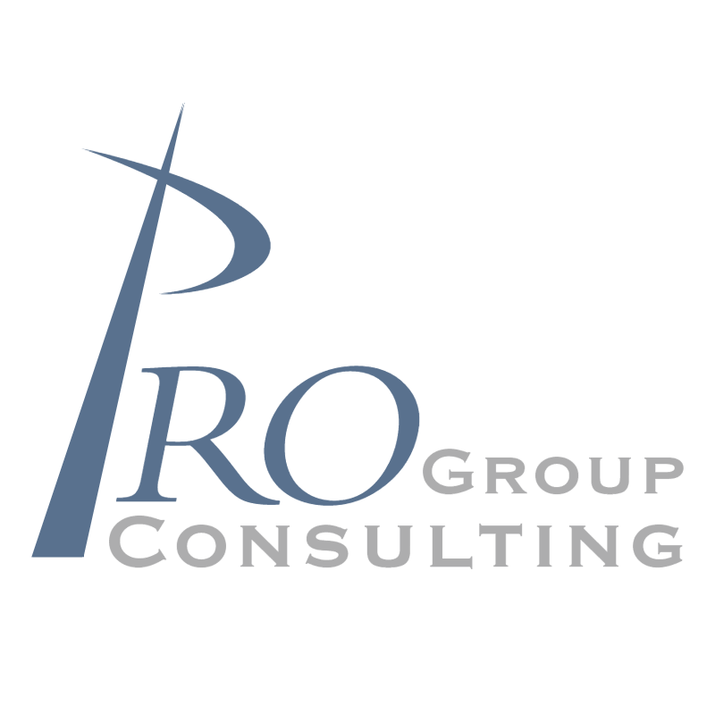 Pro Group Consulting vector logo