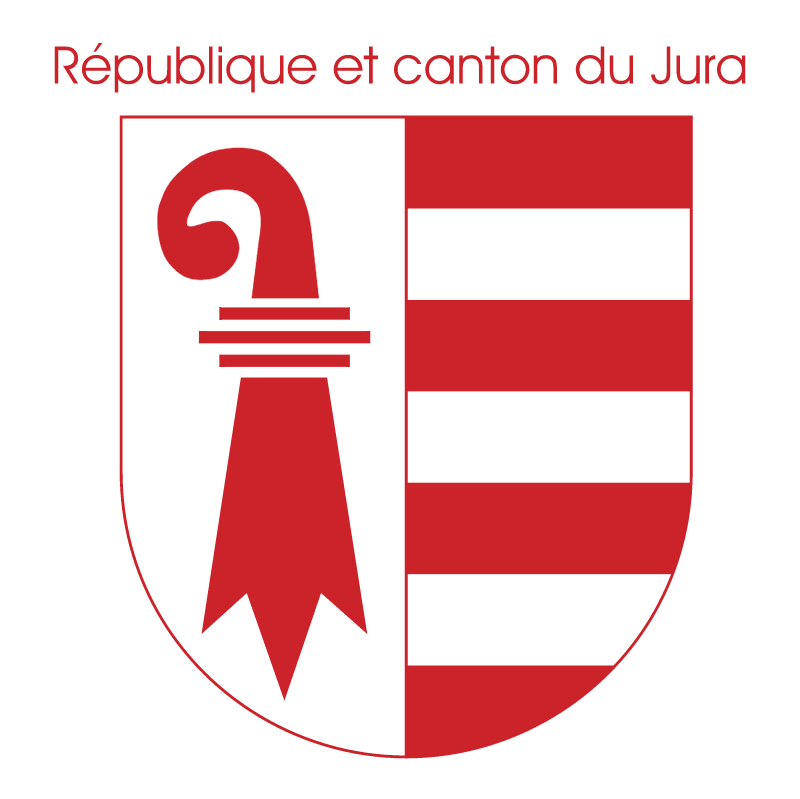Republique et canton du Jura vector