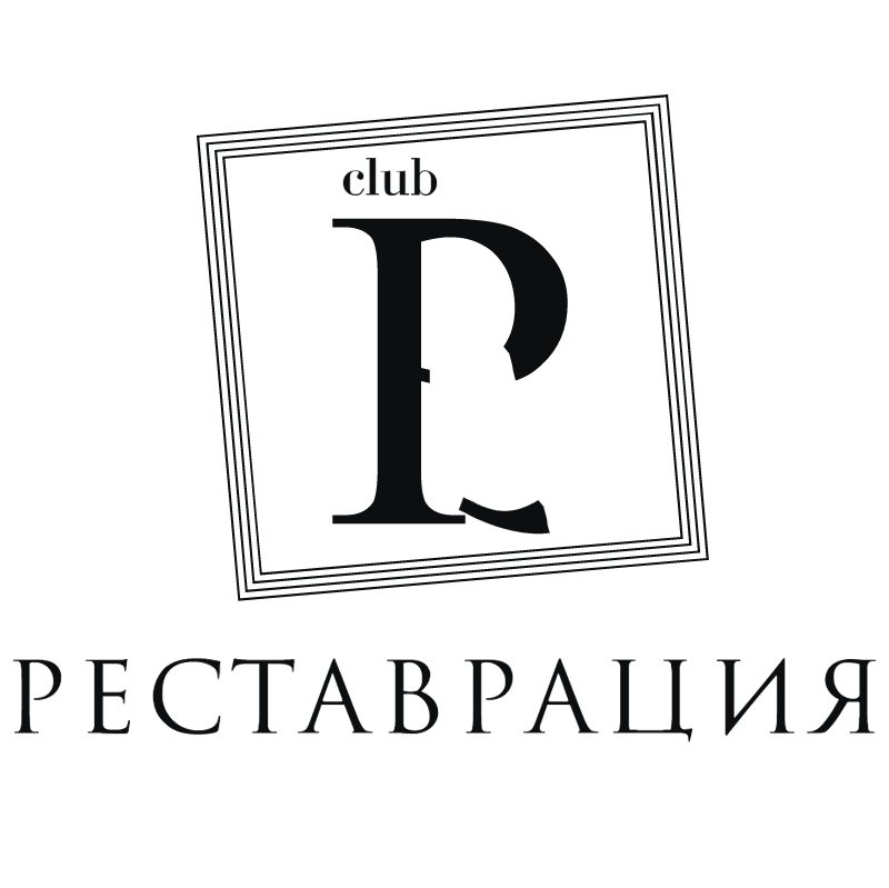 Restavratciya Club vector
