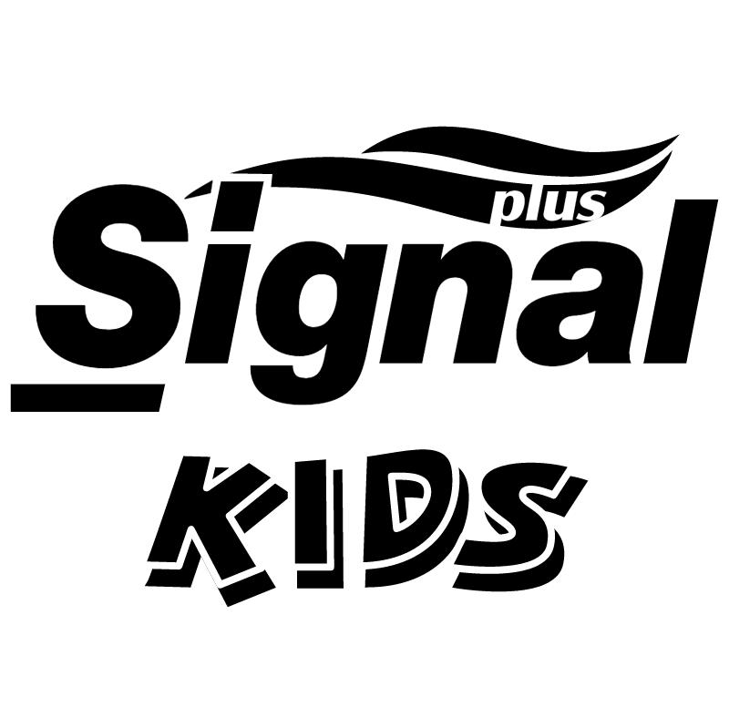 Signal Plus Kids vector