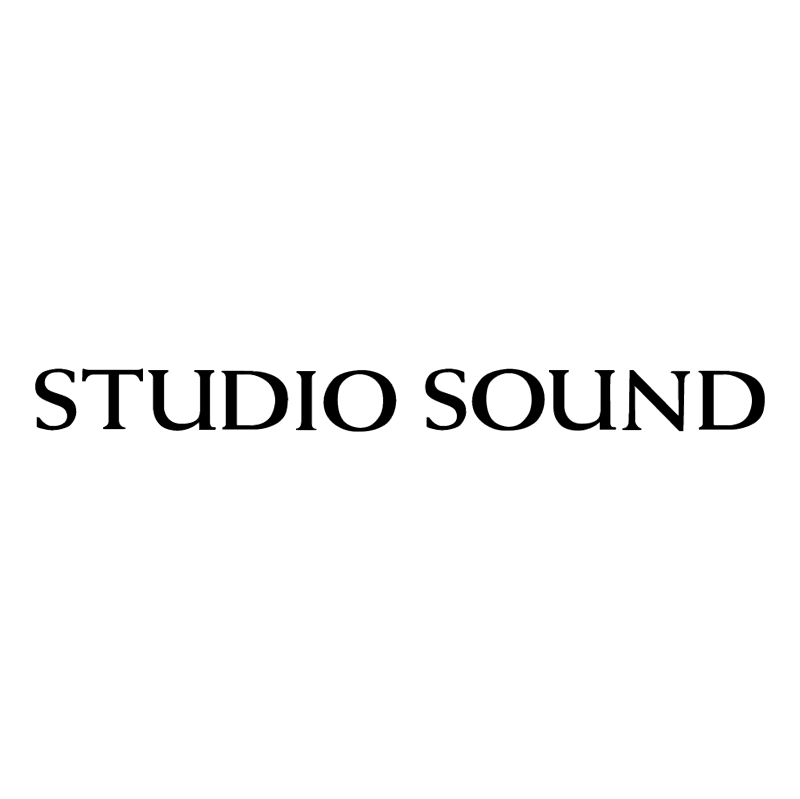 Studio Sound vector