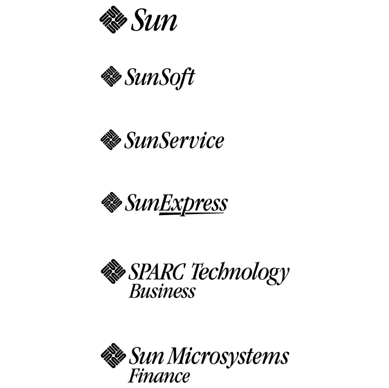 Sun Microsystems vector