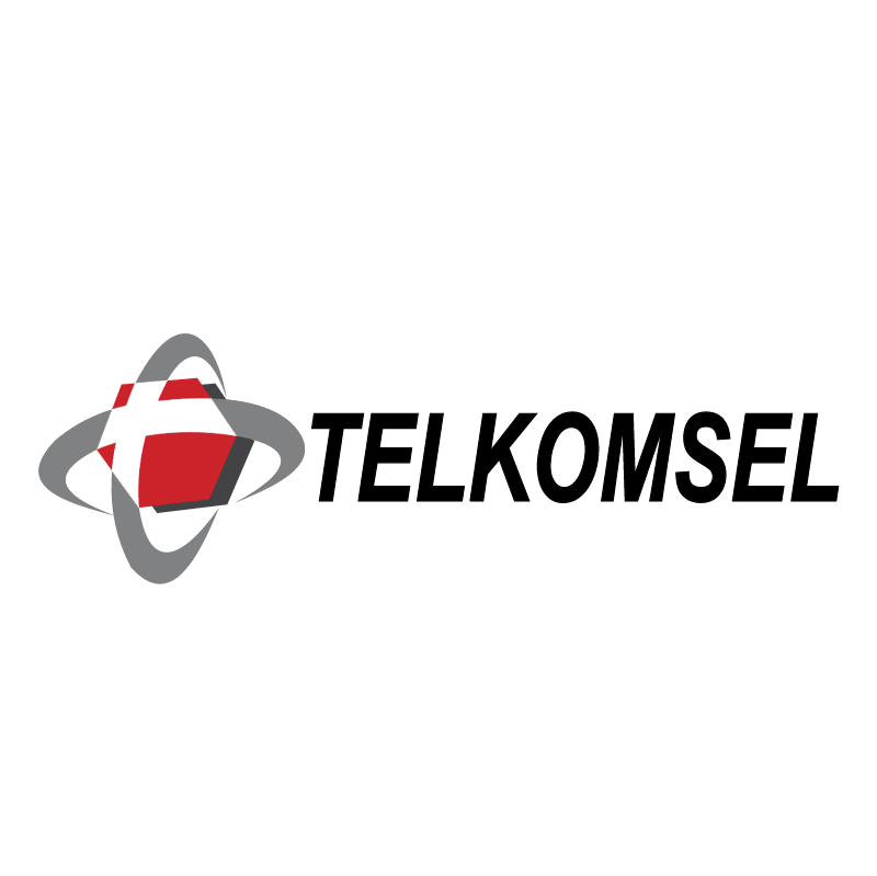 Telkomsel vector logo