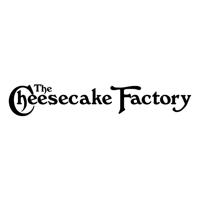 The Cheesecake Factory vector logo