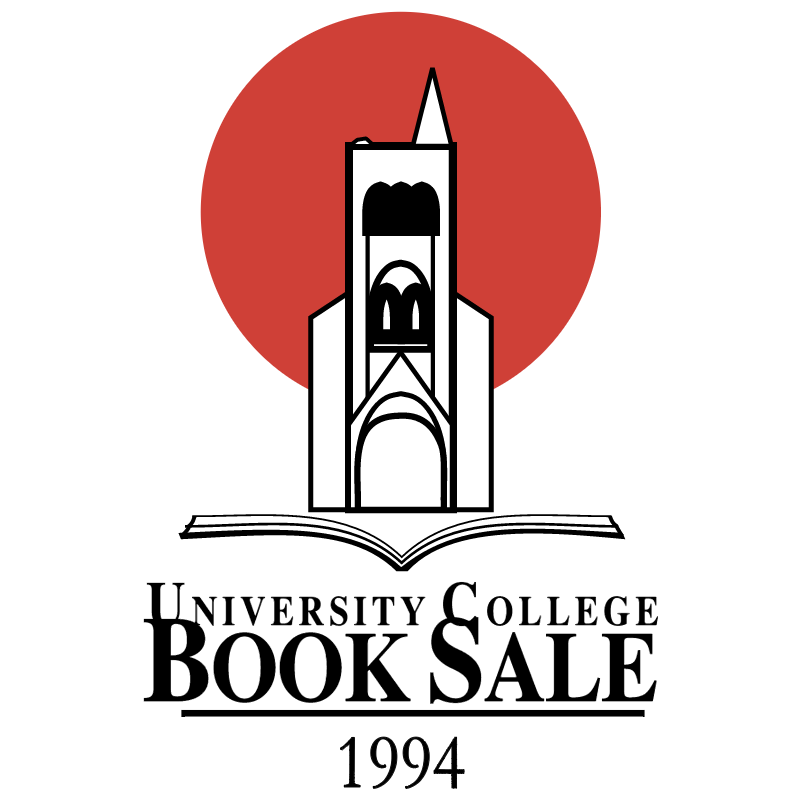 University College Book Sale vector