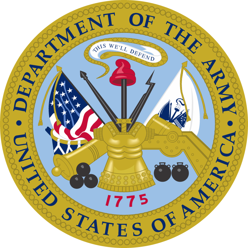 US Department Of The Army vector