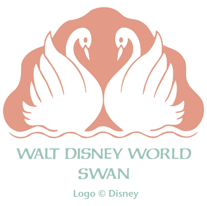 Walt Disney World Swan vector