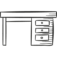 Big Desk vector