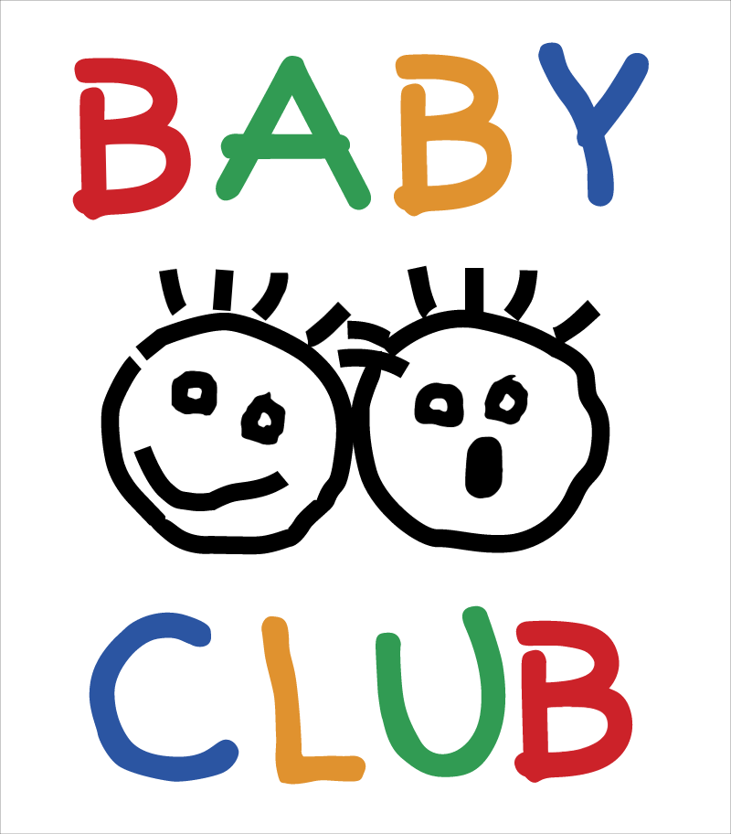 Baby Club vector logo
