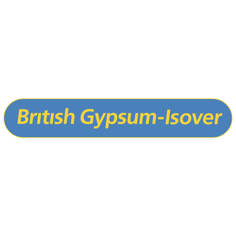 British Gypsum Isover vector