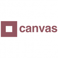 Canvas Belgium TV vector