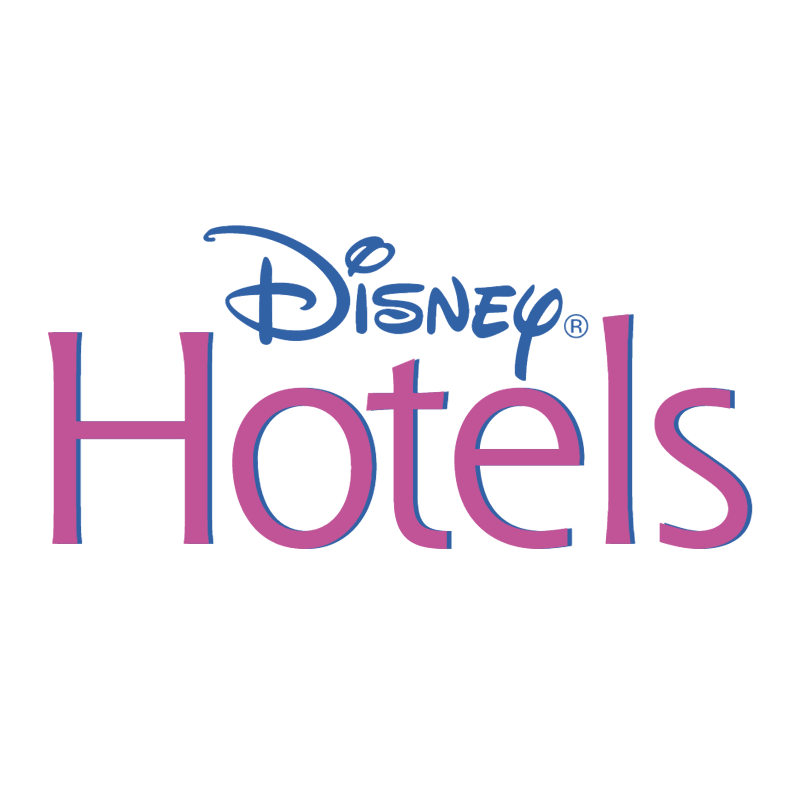 Disney Hotels vector