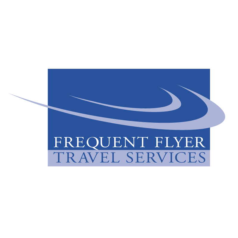 Frequent Flyer Travel Services vector logo
