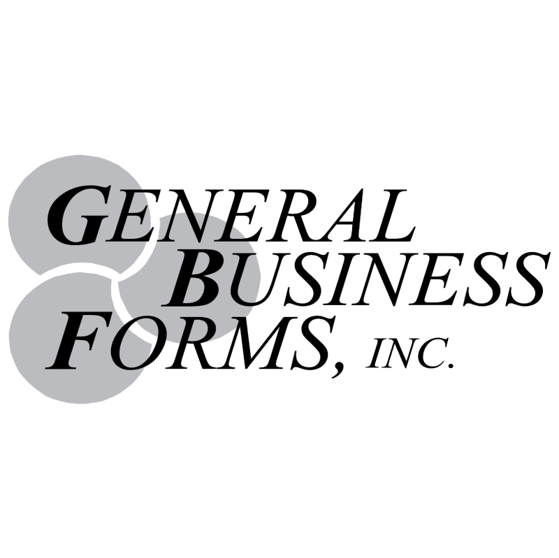 General Business Forms vector