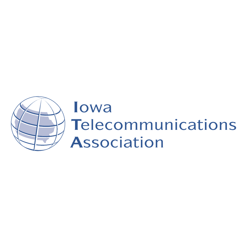 Iowa Telecommunications Association vector logo