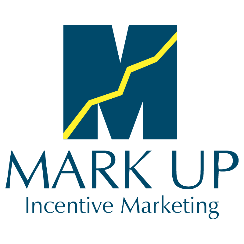 Mark Up Incentive Marketing vector logo