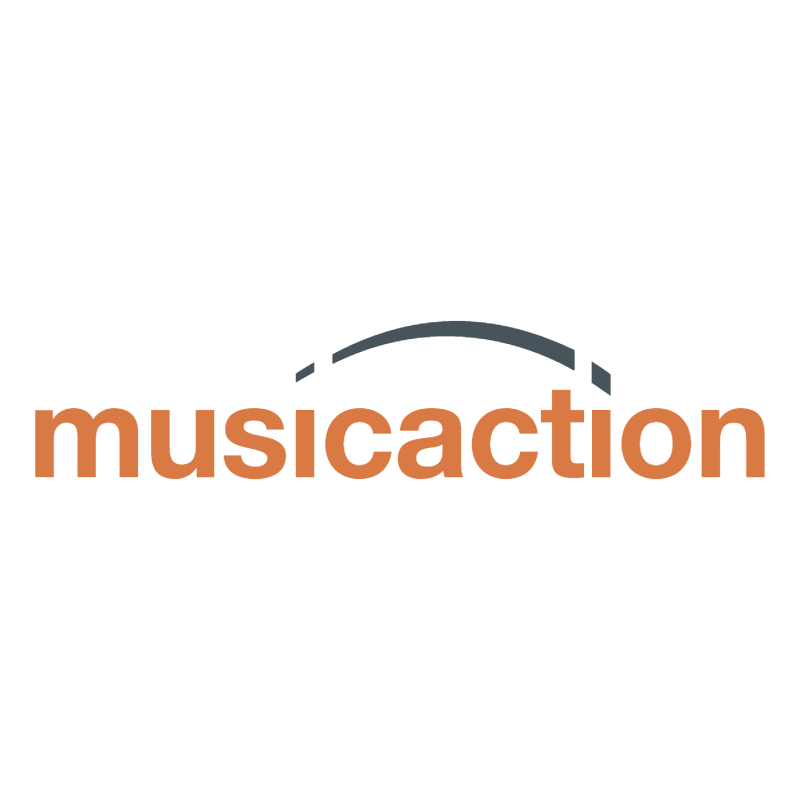 Musicaction vector logo