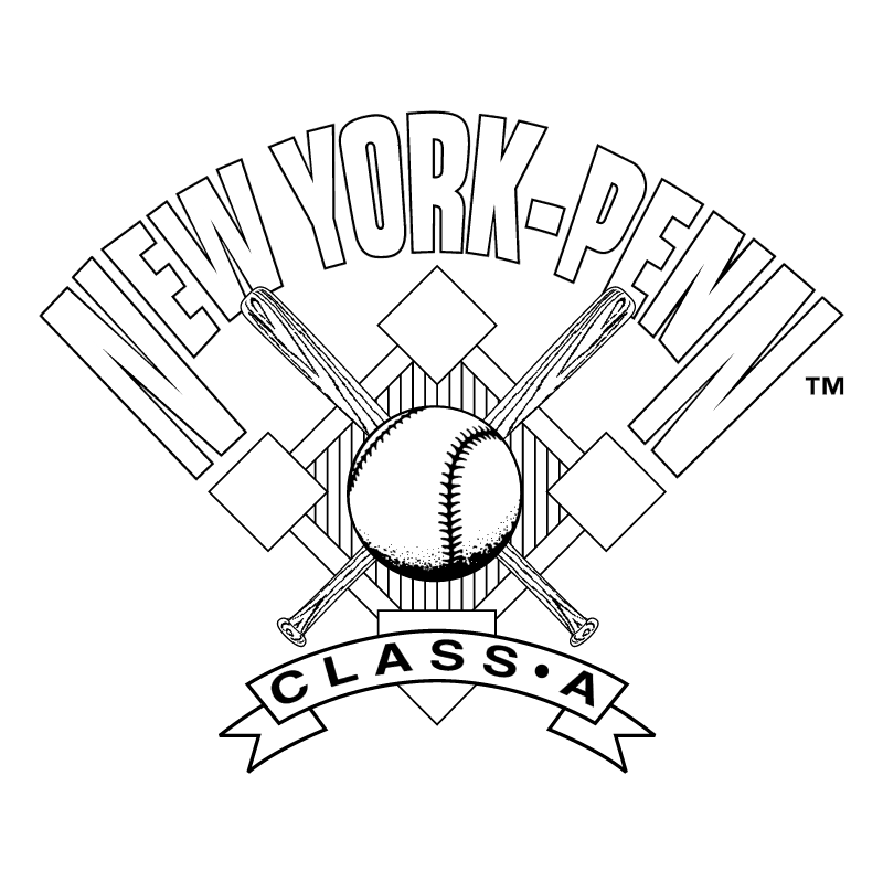New York Penn League vector logo