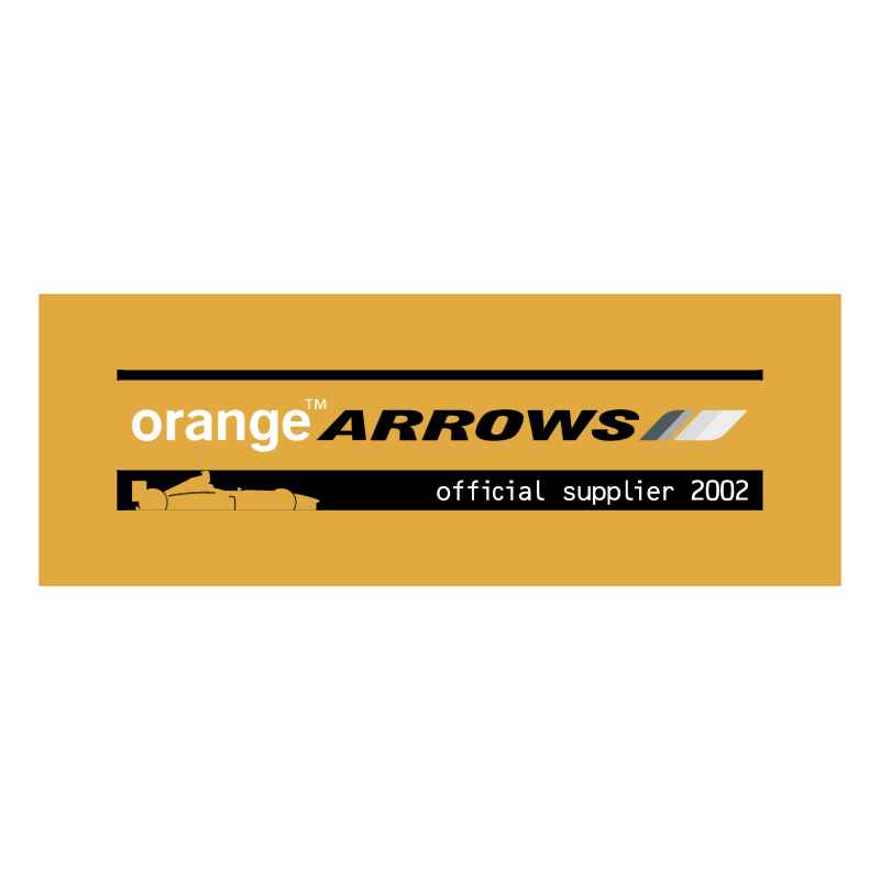 Orange Arrows vector