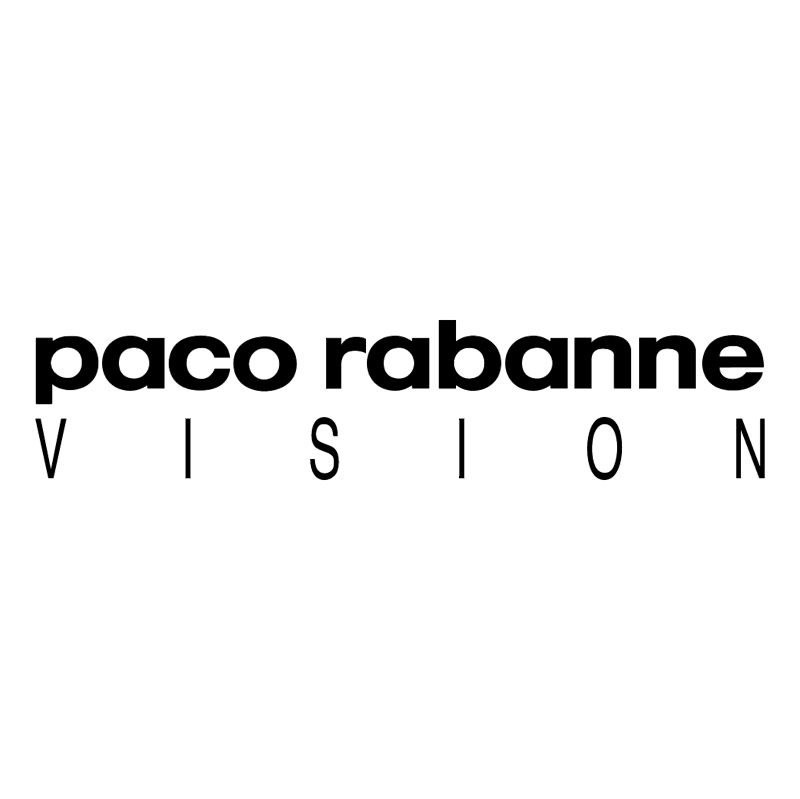 Paco Rabanne Vision vector
