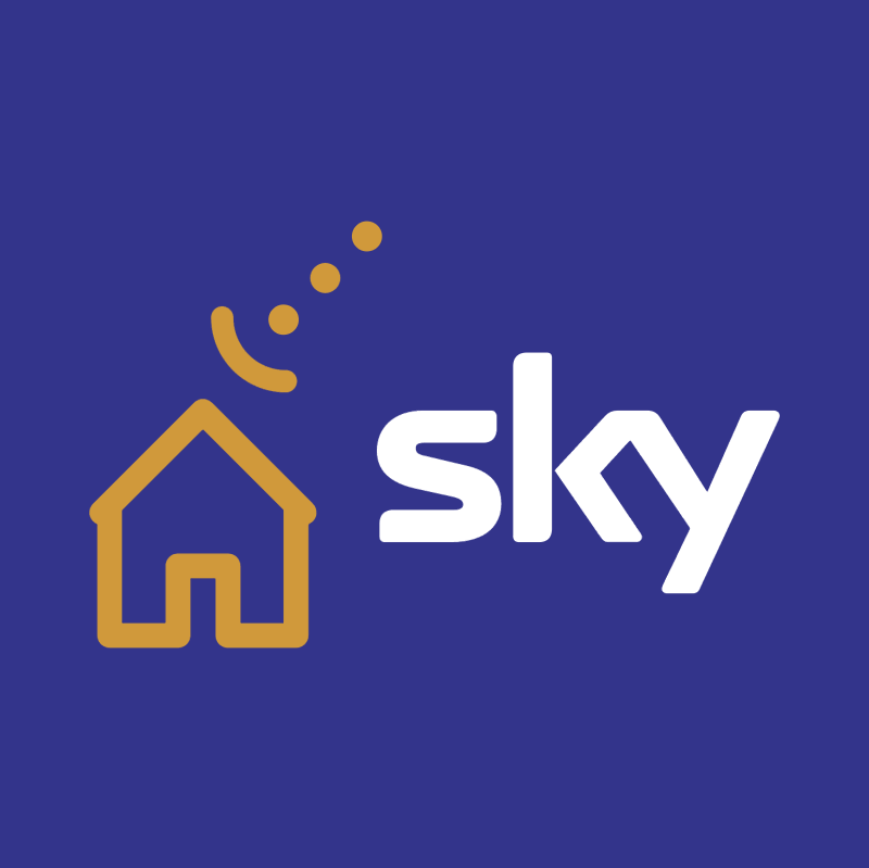 Sky TV vector logo