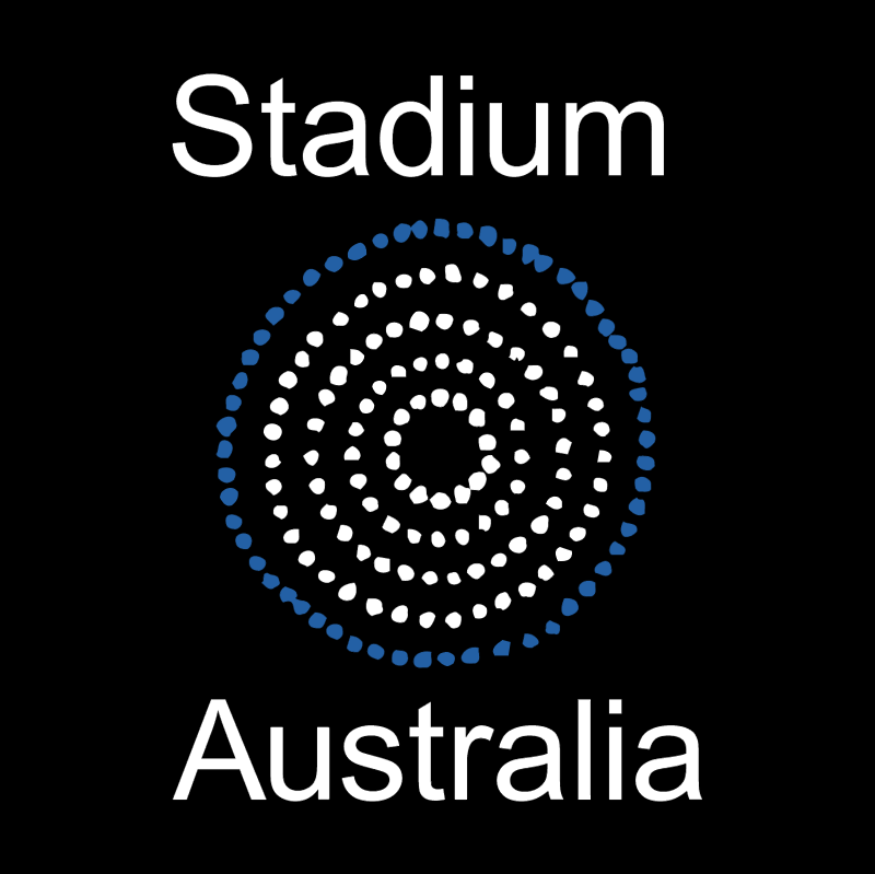 Stadium Australia Group vector