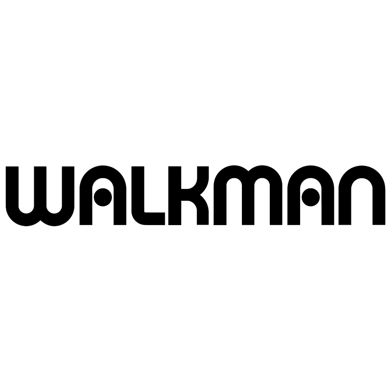 Walkman vector logo