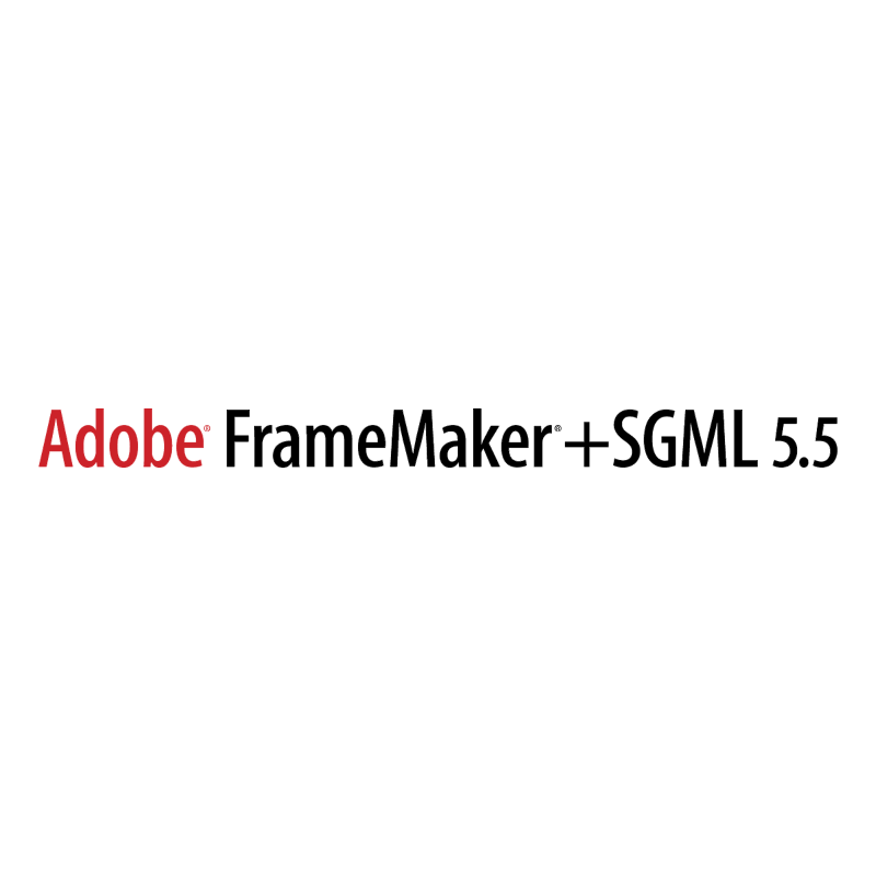 Adobe FrameMaker+SGML vector