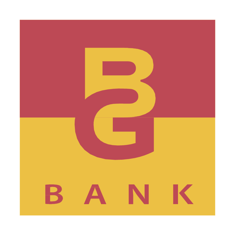 BG Bank vector logo