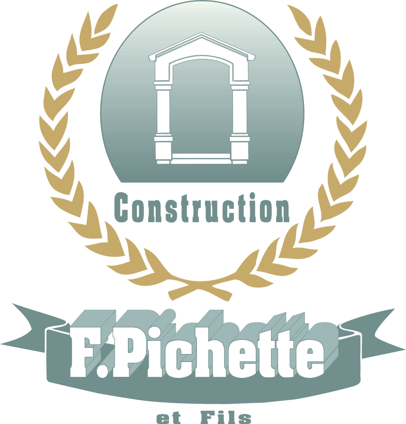 Construction Pichette logo vector logo