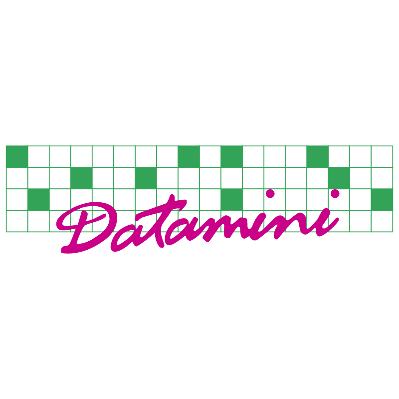Datamini vector logo