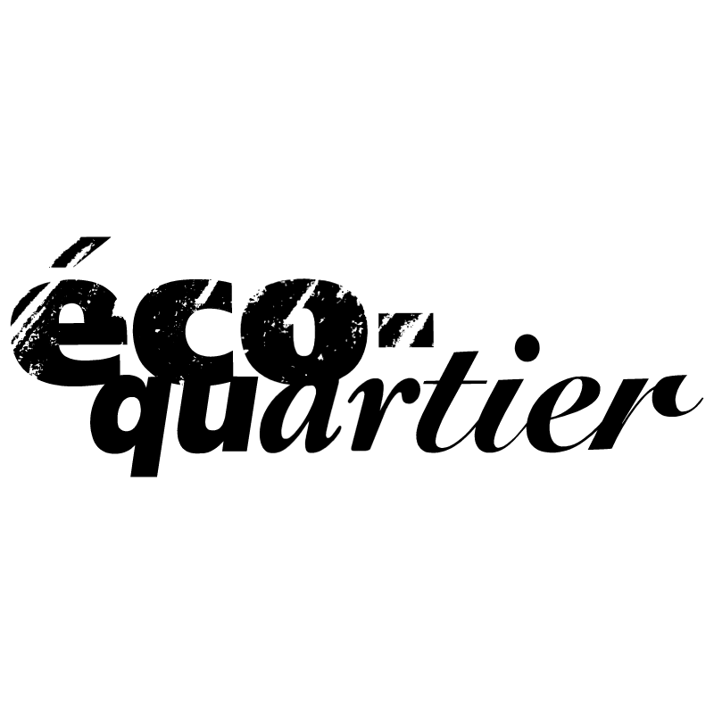 Eco Quartier vector